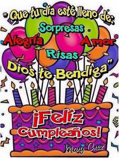 Felis cunpleaños michel que Dios tellene de bendiciones en estedia Spanish Birthday Wishes, Happy Birthday Ecard, Happy Birthday Video, Happy Birthday Celebration, Happy Birthday Gifts, Happy Birthday Messages, Birthday Thank You, Happy Birthday Images, Happy Birthday Greetings