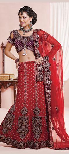 #Red Colored #Lehenga Choli