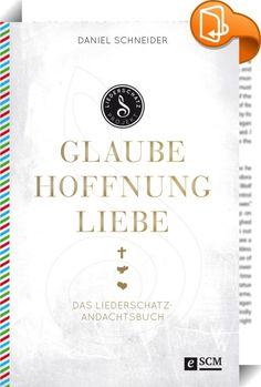 """Glaube, Hoffnung, Liebe    :  Von Albert Frey und Lothar Kosse produziert, erscheinen ab Februar 2016 die drei CDs """"Glaube"""", """"Hoffnung"""" und """"Liebe"""", auf denen alte Liedschätze neu entdeckt werden.  Daniel Schneider hat zu jedem der 36 Lieder wie """"So nimm denn meine Hände"""", """"Lobe den Herren"""" und """"Befiehl du deine Wege"""" Hintergründe recherchiert und zeigt, wie uns die Biografien der Verfasser und die Wahrheiten, die sich hinter der oft altertümlichen Sprache verbergen, heute in unserem G..."""