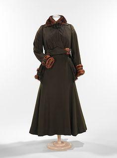 Suit  Arnold Constable & Company (American)  Date: 1912–15 Culture: American Medium: wool, fur, silk