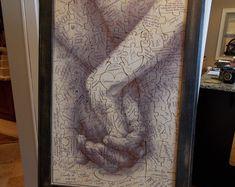 Hand in Hand The Forever Baum Holz Puzzle puzzle Hochzeit von PhDs