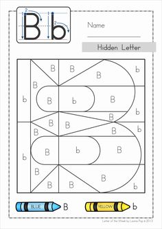 Alphabet Phonics Letter of the Week B Alphabet Phonics, Preschool Letters, Learning Letters, Preschool Worksheets, Preschool Learning, Preschool Activities, Letter Of The Week, Learning Time, Alphabet Activities