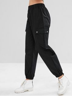 Buy Casual Pocket Cargo Jogger Pants, sale ends soon. Be inspired: discover affordable quality shopping on Gearbest Mobile! Source by Cargo Pants Outfit, Sport Pants, Jogger Pants, Women's Pants, Nike Joggers, Adidas Pants, Ankle Pants, Harem Pants, Fashion Clothes