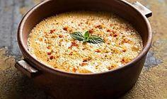 Rezept für cremige Suppe aus roten Linsen