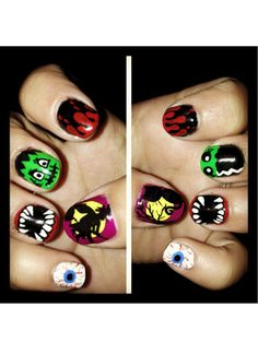 Maria's beastly tips are putting all of our meager Hallowen nail attempts to shame!   - Seventeen.com