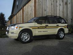 1:18 Tennessee Highway Patrol Explorer, via Flickr.