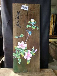 ID=W100 Pure Handmade Original Oil Painting on wood EMAIL:johnnychen5152@gmail.com