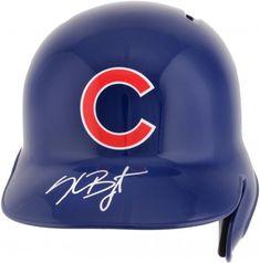 Anthony Rizzo Chicago Cubs Autographed Replica Batting Helmet by Fanatics Authentic Chicago Cubs Baseball, Sports Baseball, Baseball Jerseys, Bryant Baseball, Baseball Caps, Mlb World Series, Baseball Helmet, Cleveland Indians, Hologram