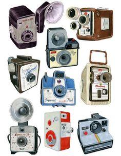 Cameras = memories revisited and treasured via MODISH LOVES: CHRISTINE BERRIE
