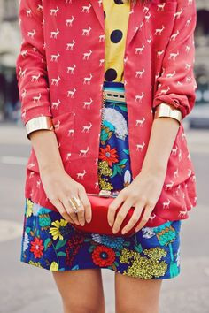 The Art of Styling /Mixing Color & Patterns