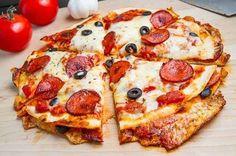 Pizzadilla de pepperoni.