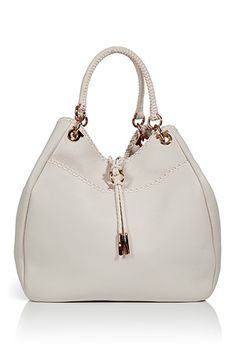 Salvatore Ferragamo White Loe Shoulder Bag