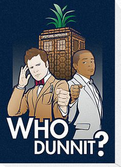 Who Dunnit? by Patrick Scullin- It's only a Psych Doctor!  What???