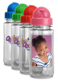 COMING SOON to the Oodles Online Store! - Oodles 14oz FotoFrame™ Bottles - www.oodlesstore.com #sahm #moms #family #hydration
