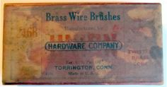 Union Hardware Brass Wire Brushes