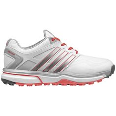 nuovo 2016 adidas mens asym energia impulso rh scarpe da golf bianco / nero