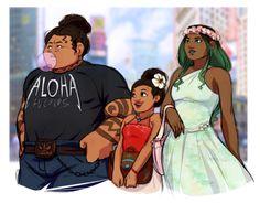 Modern Maui, Moana, and TeFiti