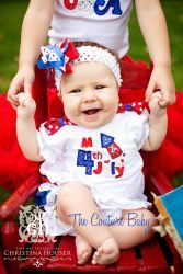 My 1st Fourth of July Shirt - The Couture Baby