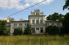 Pałac w miejscowości Lubiń, gmina Kikół, woj. Kujawsko-Pomorskie