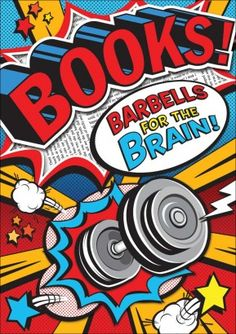Books - Barbells for the brain! #scholastic #reading