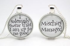 Hey, I found this really awesome Etsy listing at https://www.etsy.com/listing/106611365/harry-potter-mischief-managed-i-solemnly