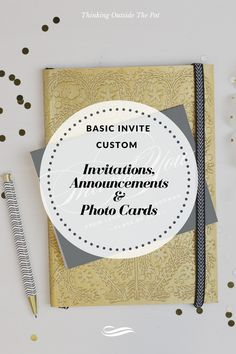 Custom Invitations,