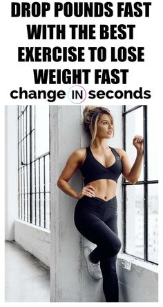 Drop Pounds Fast With The Best Exercise To Lose Weight Fast! Print our most popular FREE PDF and do the workout anywhere! Get in shape fast with this workout! #healthfitness, #getinshape, #getfit, #workoutplan, #workoutroutine, #strengthtraining, #gymworkouts, #kettlebellworkouts
