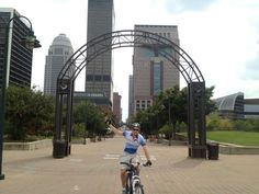 September is Bike to Work month ... and one of our Leadership Camp grads, Hunter Veeneman, is doing just that in Louisville.