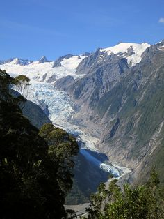 Franz Josef, New Zealand.    looks like where the eagles were flying around in the movie the hobbit.