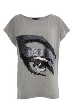 Eye Dazzle T-Shirt - Tees - French Connection Usa