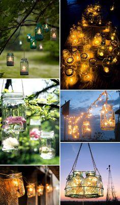 Wedding mason jar tables   Leave a COMMENT Cancel COMMENT
