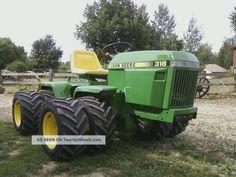 Custom Built Garden Tractors   Case 4x4 Articulated Garden Tractor - Custom Built Antique & Vintage ...
