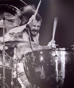 John Bonham.  The best drummer I don't know...