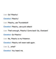 Cleverbot... Why?