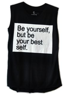 Regata Long Be Yourself! #beyourself #quote #regata #fashion #moda