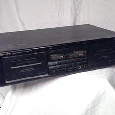 Onkyo Dual Stereo Cassette Tape Deck TA-RW313