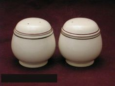 Noritake Nutmeg #9117 Salt & Pepper by Noritake Keltcraft. $6.49. Mint Condition. Dimensions: N\A. Salt & Pepper - Gray Band And Brown Lines On Tan Background - Made In Ireland