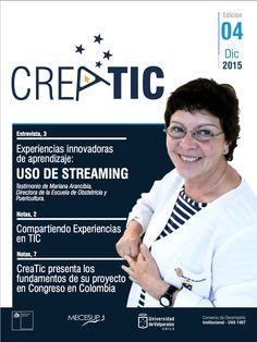 Boletin 4 de Creatic, programa de fortalecimiento docente en aprendizaje TIC