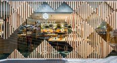 A Modern Cheese Bar in Barcelona by estudi{H}ac