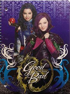 Disney Descendants 1 Subject Spiral Notebook (Evie & Mal) Disney http://www.amazon.com/dp/B012B9HJ2E/ref=cm_sw_r_pi_dp_G3qVvb0RZM84E