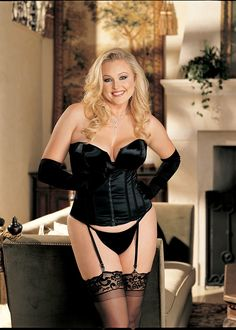 Plus size corset, Corsets and Satin on Pinterest