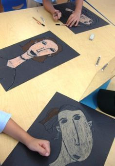 I found this lesson idea over at Art Projects for Kids and decided to try it with my grade three students. I am a new fan of Amedeo Modigliani and the kids are too. After looking at many of the ar...