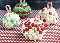 Christmas Treat: Ornament Popcorn Balls