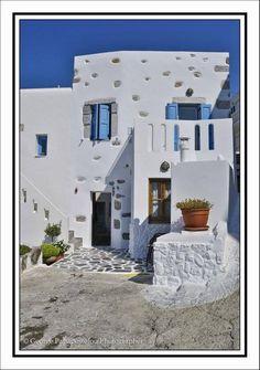 House in Astypalea island, Greece