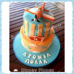 Disney Planes cake by Bake and Art Soulioti Birthday Stuff, Boy Birthday Parties, 4th Birthday, Birthday Ideas, Disney Planes Cake, Disney Planes Birthday, Cupcake Cakes, Cupcakes, Cakes For Boys