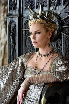 Snow White and the Huntsman, costumes by Colleen Atwood, tnx to Charlize Theron