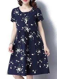 Buy Blue Short Sleeve Dresses, Online Shop, Women's Fashion Blue Short Sleeve Dresses for Sale Business Dresses, Classy Dress, Elegant Dresses, Dress Collection, Dresses For Sale, Korean Fashion, Fashion Dresses, Short Sleeve Dresses, Buy Cheap