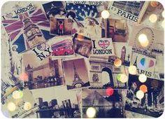 NY,Paris,London...<3
