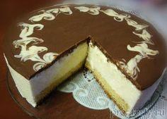 Торт Птичье молоко с желатином