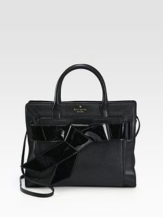Kate Spade Rosa Patent Leather Bow Tote
